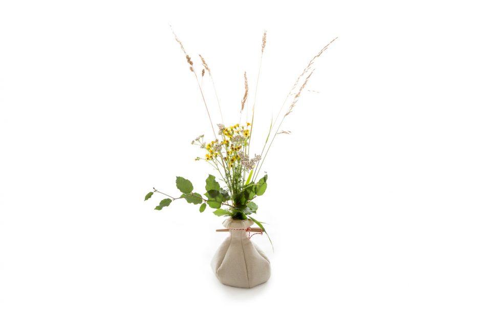 urn vilt bloemen urn hout natuurlijk print persoonlijk uitvaart asbestemming print Beerenberg