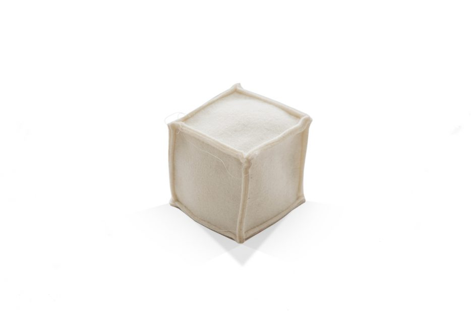 urn kubus vilt vierkant