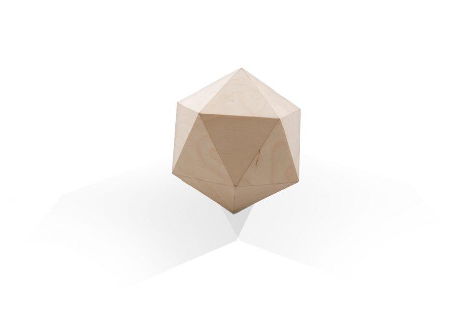 urn polygoon hout urn hout natuurlijk print persoonlijk uitvaart asbestemming print Beerenberg
