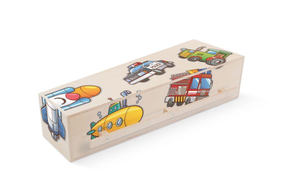 prematuur persoonlijk print Kinderkistje Nana 120cm Beerenberg stickers brandweer
