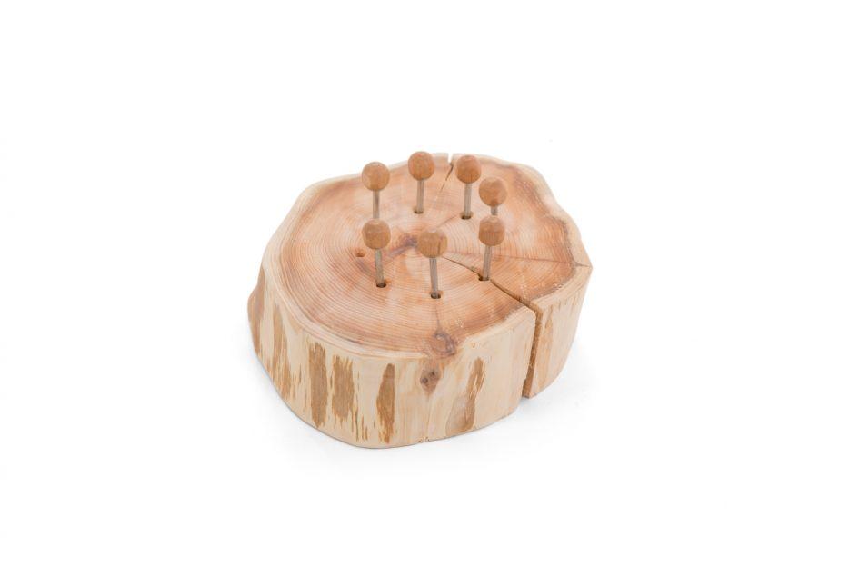 Sluitschroef houder boomstam uitvaart natuurlijk uitvaartbenodigdheden Beerenberg