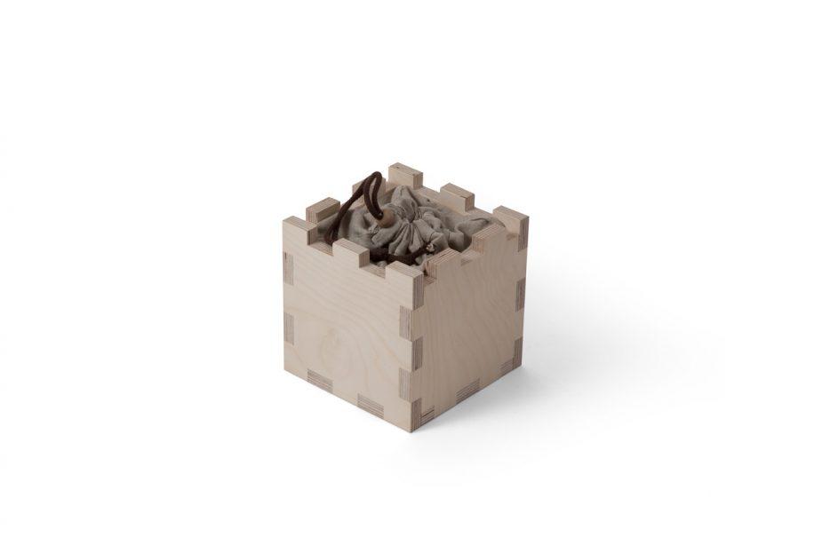 urn hout natuurlijk print persoonlijk uitvaart asbestemming print Beerenberg kubus stap 3