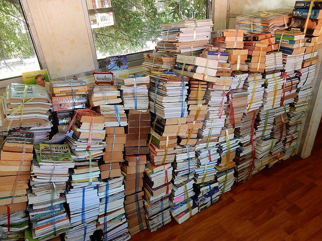 Piles of Books by Michael Coghlan on flickr (CC BY-SA 2.0)