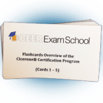 Beer Exam School flashcards, promo set. Formatted for perforated business card sheets. Compatible with Avery 8371.