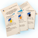Beer Exam School flashcards, beer styles set. Formatted for perforated business card sheets. Compatible with Avery 8371.