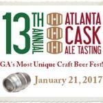 Atlanta Cask Ale Tasting 2017