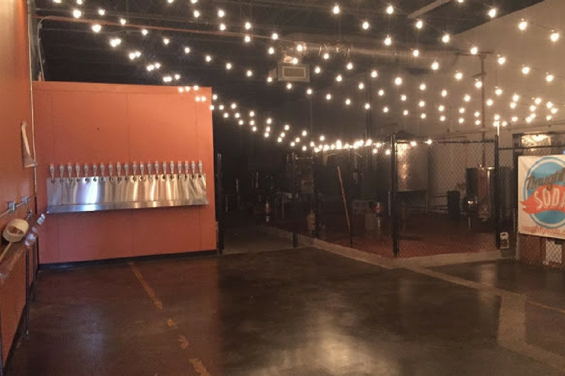 Inside Ironmonger and Naughty Soda (Courtesy of Ironmonger Brewing)