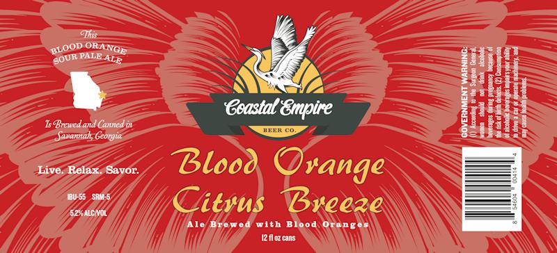 Blood Orange Citrus Breeze