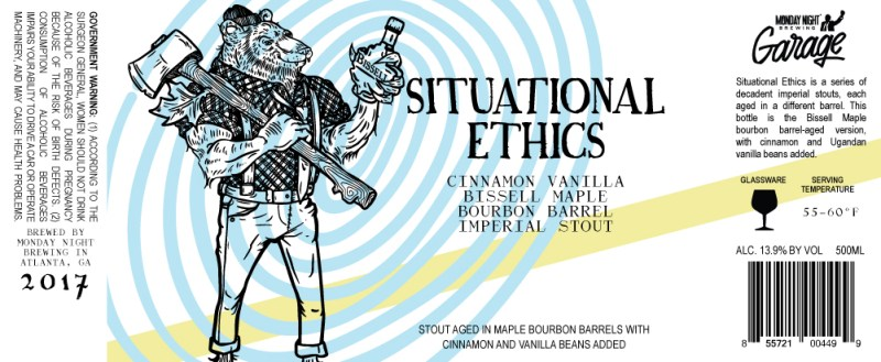 Monday Night Situational Ethics Bissell Maple Bourbon