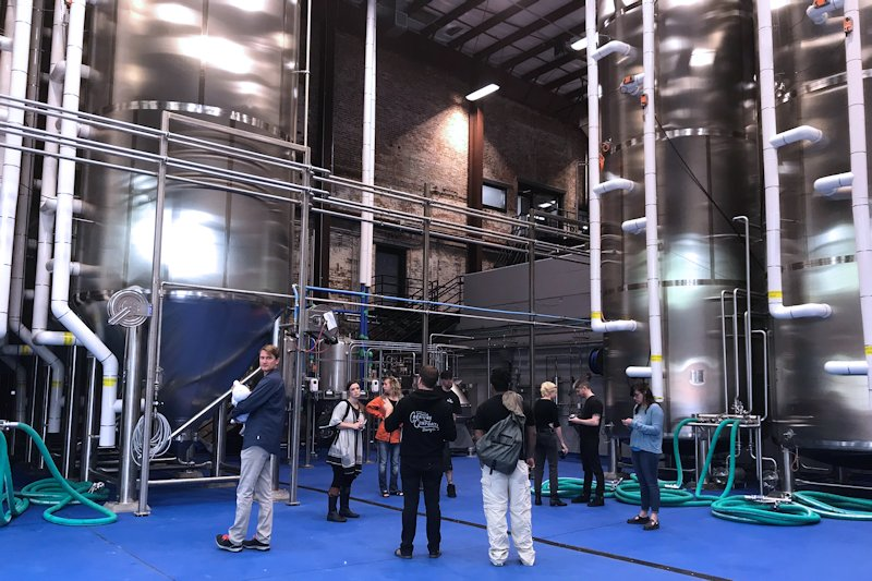 Inside Creature Comforts' new Southern Mill brewery | Beer Guys Radio