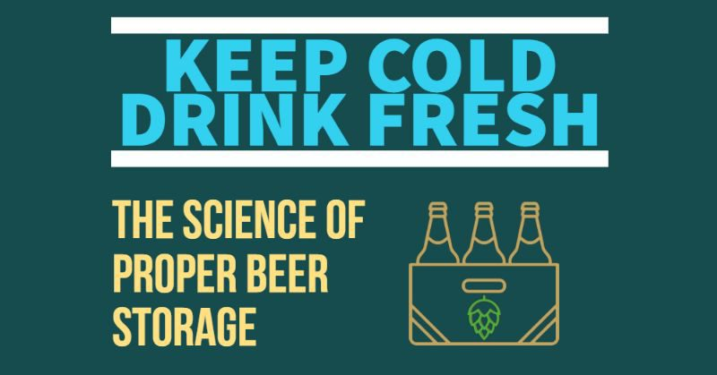 Delicieux Keep Cold Drink Fresh Beer Storage Science