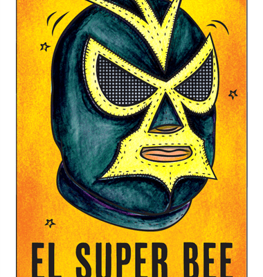 Four Corners El Super Bee de Saison Label