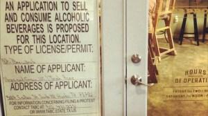 Hops and Grain brewpub license