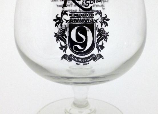 Rahr 9th Anniversary Glass