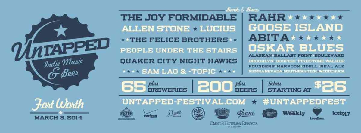 Upcoming Untapped Festival Fort Worth reveals 2014 beer list