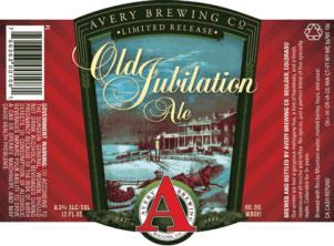 Avery Old Jubilation Ale