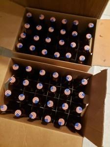 bottling home brewed beer