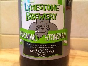 Abdominal Stoneman, Lymestone Brewery, 7.0% ABV