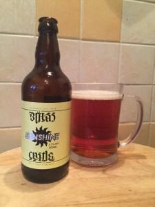 Sunshine, Brass Castle Brewery, 5.7% ABV