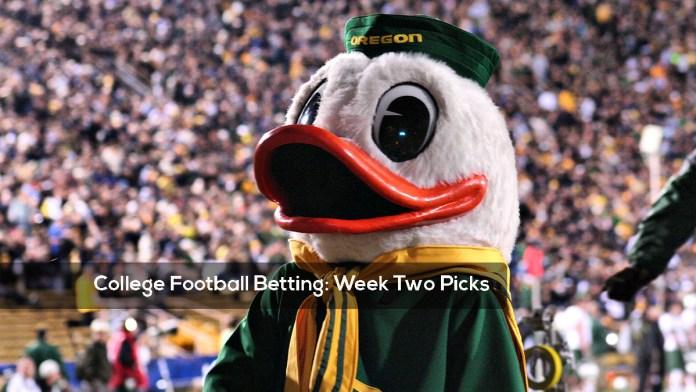 College Football Betting- Week Two Picks