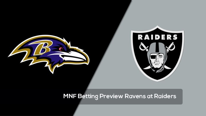 MNF Betting Preview Ravens at Raiders