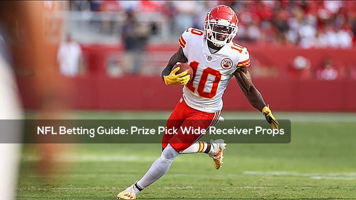 NFL Betting Guide- Prize Pick Wide Receiver Props