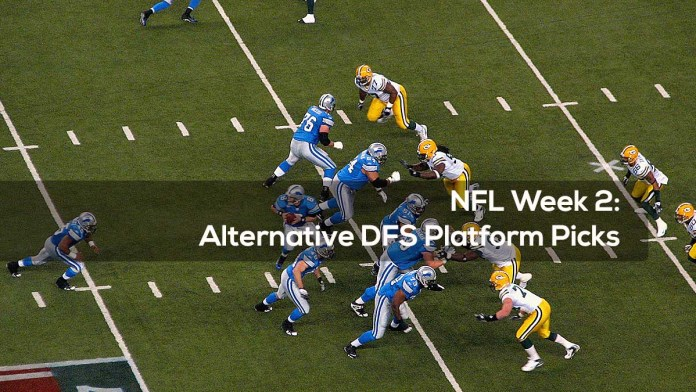 NFL Week 2- Alternative DFS Platform Picks