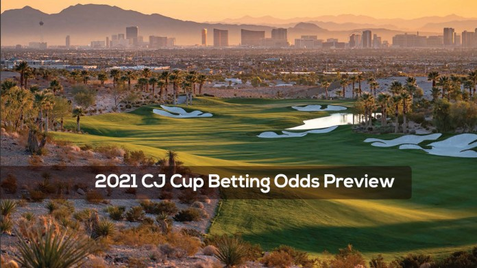 2021 CJ Cup Betting Odds Preview