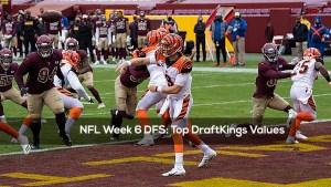 NFL Week 6 DFS: Top DraftKings Values