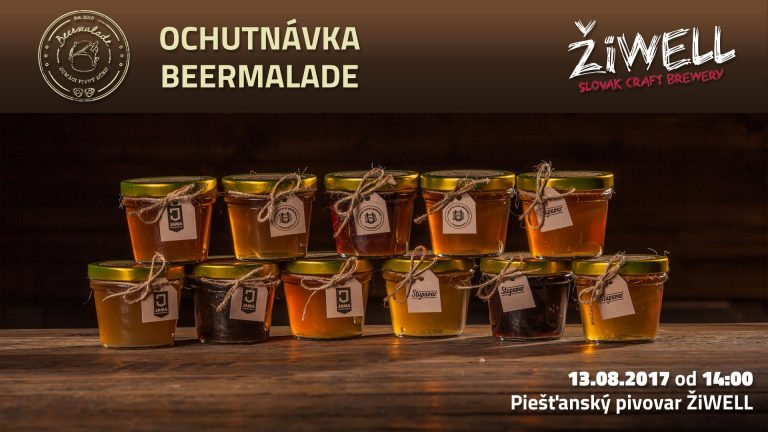 pnky.sk – A brewery in Piešťany unveils Beermalade from their beers