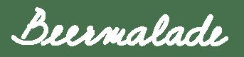 Beermalade logo text white