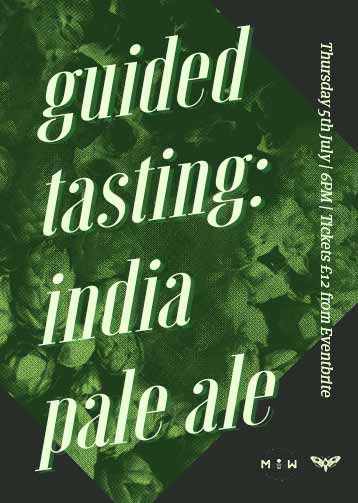 India Pale Ale Bottle Tasting