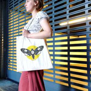 Beermoth tote bags