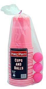 Island Dogs Pink Pong Set