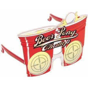 Beer Pong Champ Glasses