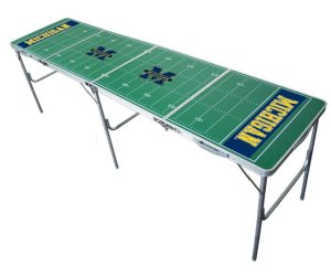 Michigan Beer Pong Table
