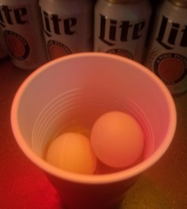 Same Cup Beer Pong Rule
