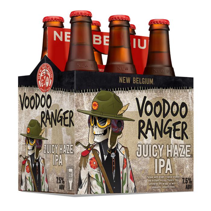 New Belgium Voodoo Ranger Juicy Haze IPA introduced as