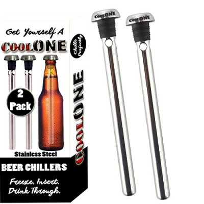 Cool-One-Beer-Chiller-Beverage-Cooling-Sticks-Keep-Your-Beers-Cold-Longer-Unique-Fathers-Day-Gifts-For-Dad-Gift-Set-Of-2-Coolers-0
