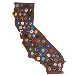 Dark-California-Beer-Cap-Map-Craft-Beer-Cap-Holder-0-0