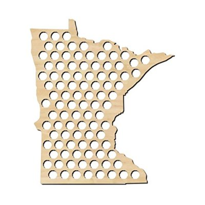 Minnesota-Beer-Cap-Map-MN-Craft-Beer-Cap-Holder-Gifts-for-Him-0
