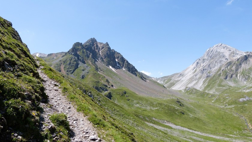 Weg zum Erhornsattel