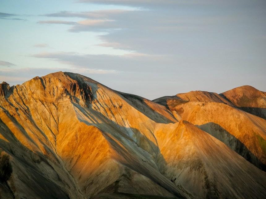 Rhyolith-Berge vom Landamannalaugar