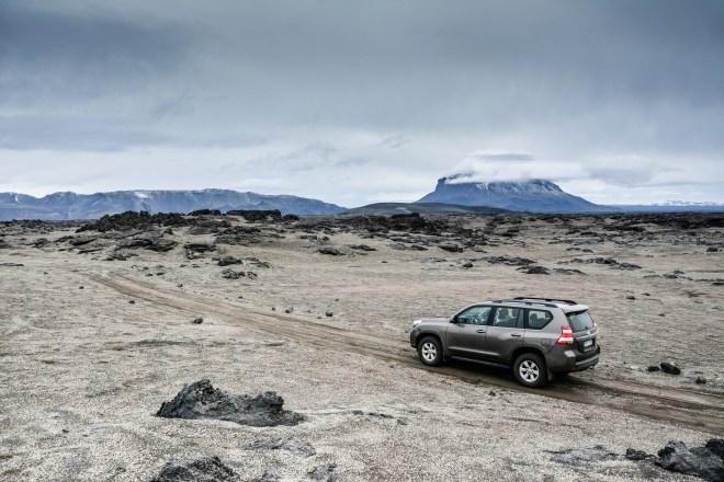 Iceland Herðubreið Jeep Offroad Track Onroad Toyota Land Cruiser