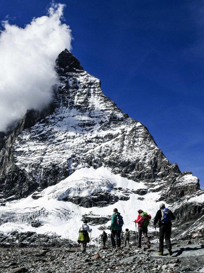 Matterhon Glacier Trail Zermatt