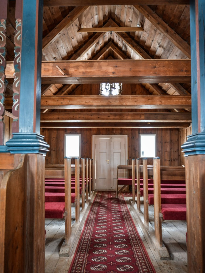 Saurbæjarkirkja Torfkirche Island Iceland Innenraum
