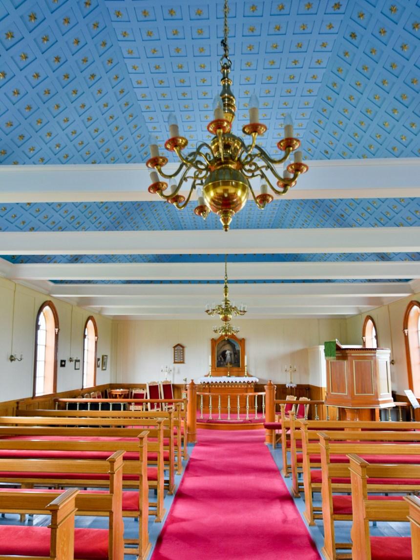 Kirche von Möðruvellir Innenansicht