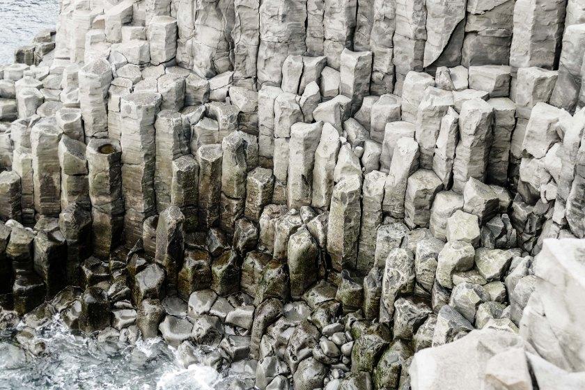 Basalt-Klippen von Hosfos Iceland Giants Causway-5