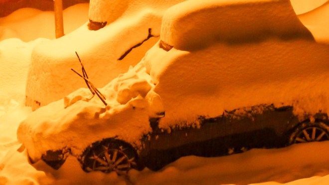 nach dem grossen Schneefall Arosa-1090998