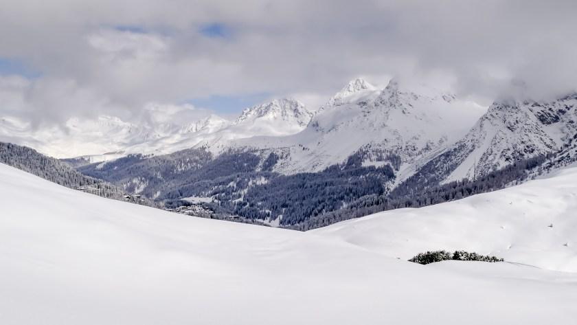 nach dem grossen Schneefall Arosa-1100115